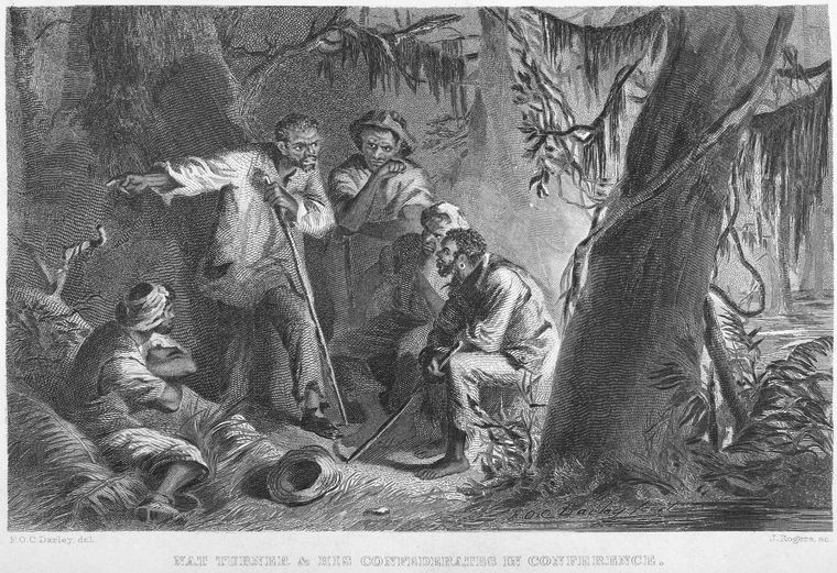 an analysis of the turner rebellion in the south Lastly, in 1833, after nat turner's rebellion, on december 4, the american anti-slavery society was founded in philadelphia slavery changed over time and was enforced differently in various regions.